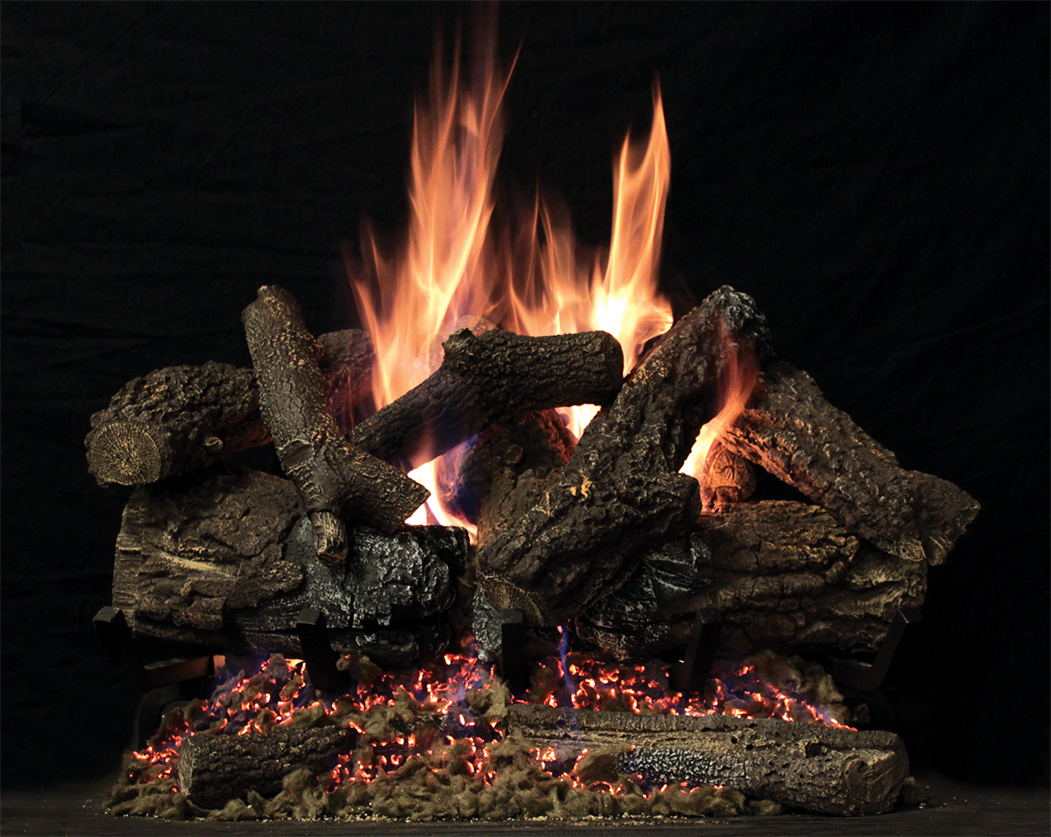 vented gas log sets white mountain hearth