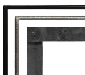 Boulevard Fireplaces Linear Direct Vent White Mountain