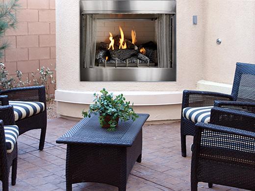 Outdoor White Mountain Hearth
