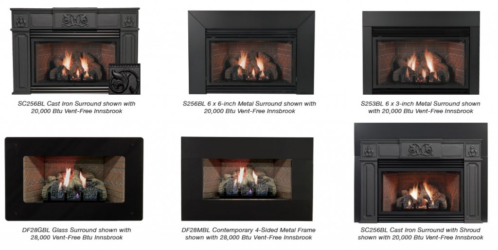 Innsbrook Inserts (Vent Free) - White Mountain Hearth