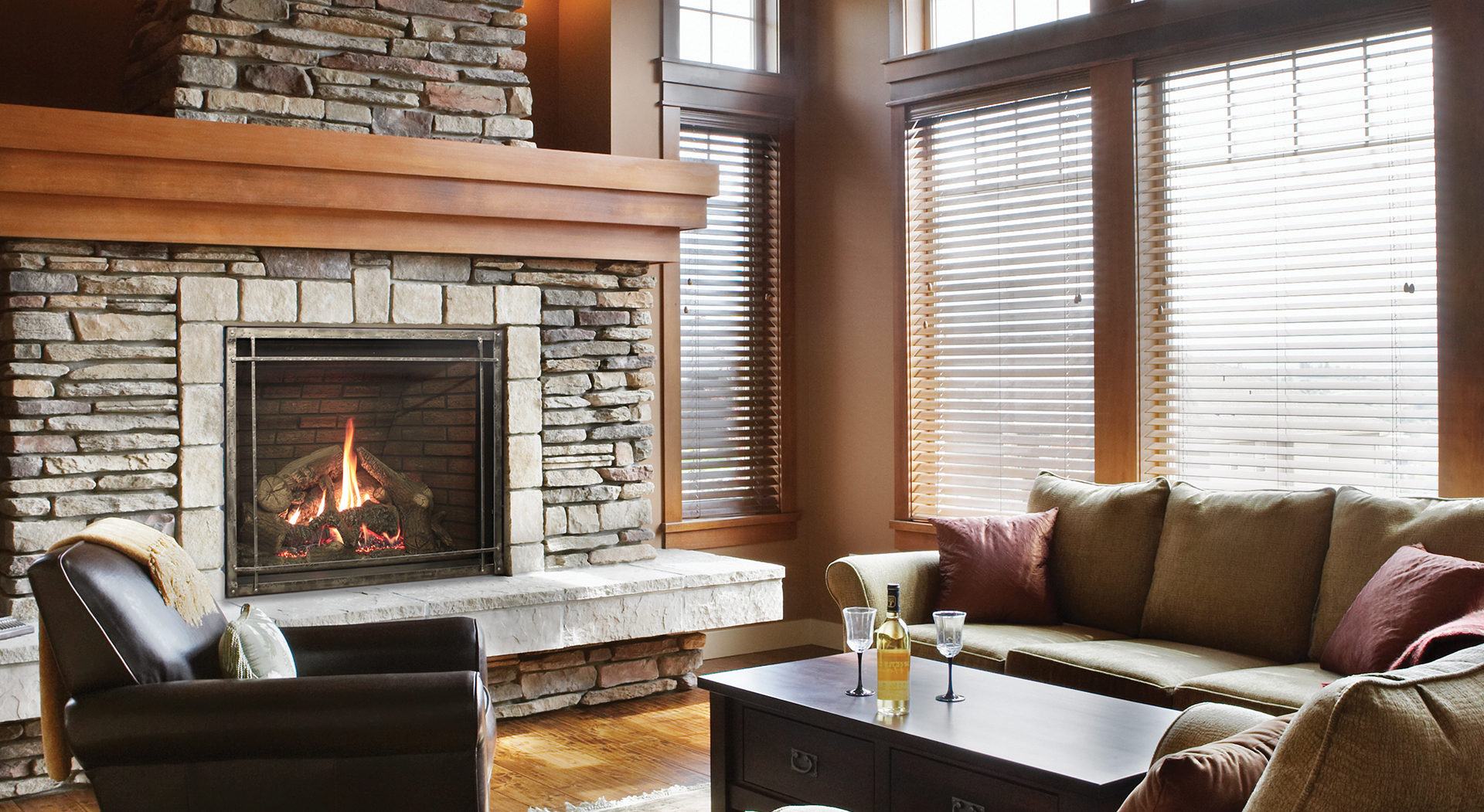 Rushmore Fireplaces With Truflame Technology Direct Vent