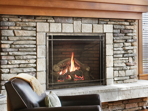 Rushmore Fireplaces With Truflame Technology Direct Vent White
